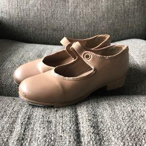 Capezio Tap Shoes. Girls size 12